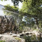 Basel Zoo Primate Webnet Enclosure Exterior