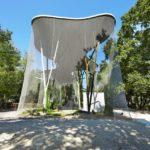 Bois de la Bâtie Webnet Aviary Enclosure Exterior