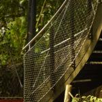 Treetop Masoala Hall Zurich Zoo Stairway Webnet Panels